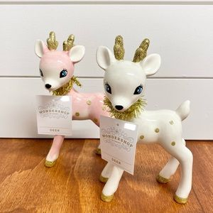 Target Wondershop | Set of 2 Retro Reindeer Decor